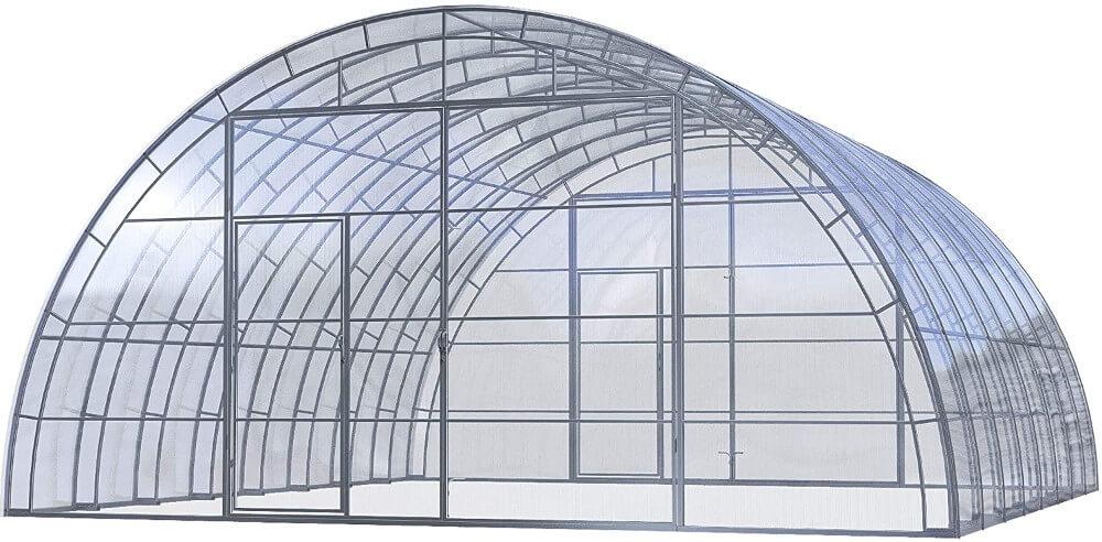 Industriegewächshaus Produktbild 7,5x8m bis 7,5x18m
